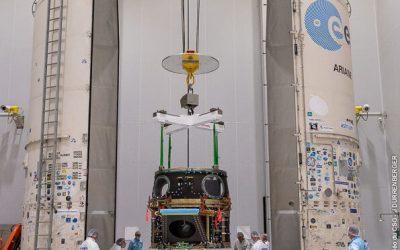 Cheops prende posto sul Soyuz