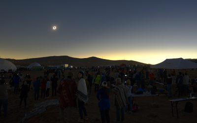 Eclissi da brivido! Il racconto di tre astrofisici