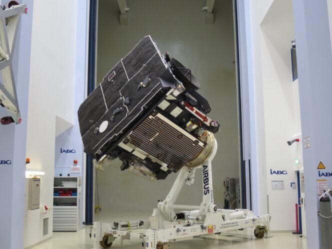 Solar Orbiter è pronto a lasciare l'Europa