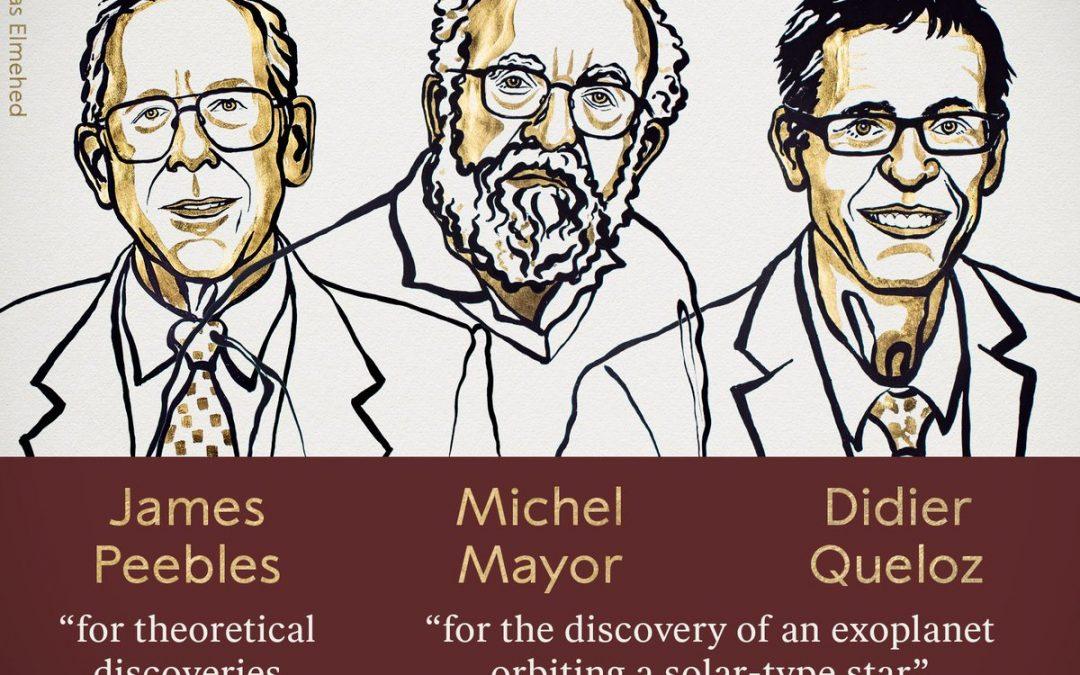 Nobel per la Fisica a cosmologia ed esopianeti
