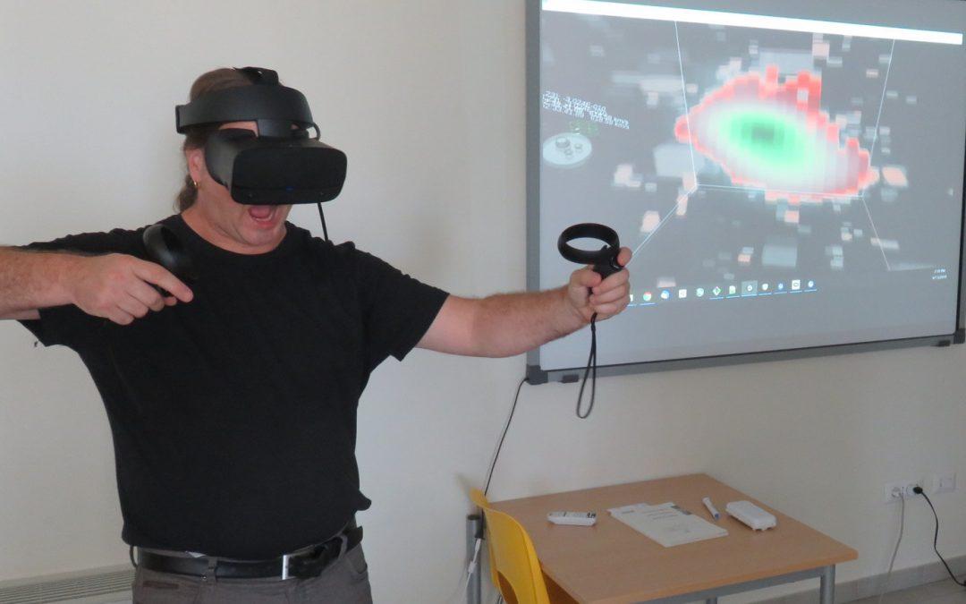 Realtà virtuale e radioastronomia a braccetto