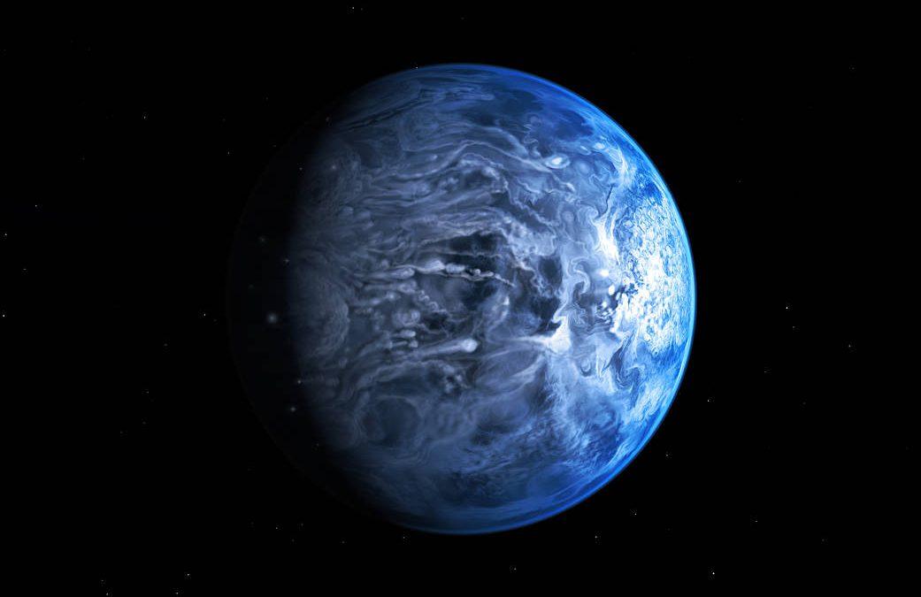 Elio bollente nell'atmosfera di Hd 189733b