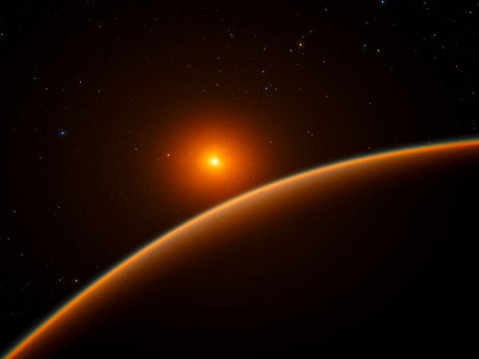 Vista al Tng una super-Terra a 21 anni luce