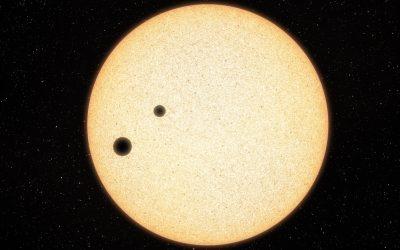 È doppio il sistema più giovane scoperto da Tess
