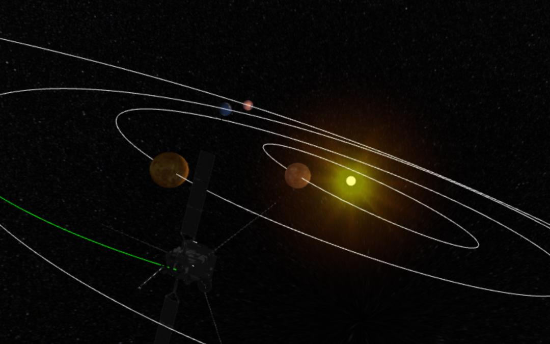 Tre viste uniche del Sistema solare