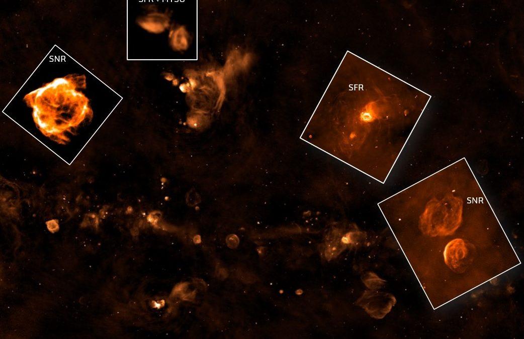 Uno sguardo al piano galattico con Askap